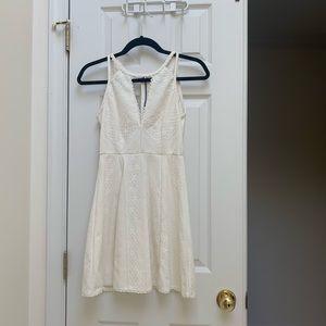 Free People Size 2 Cream Lace Dress